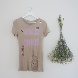 Tops - Wild Child Graphic Tee